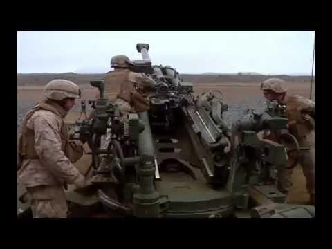 M777 Howitzer Training - Australian Military and U.S. Marine Corps