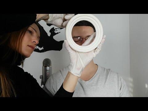 ASMR Eye Exam Roleplay - Extreme Weird & No Talking