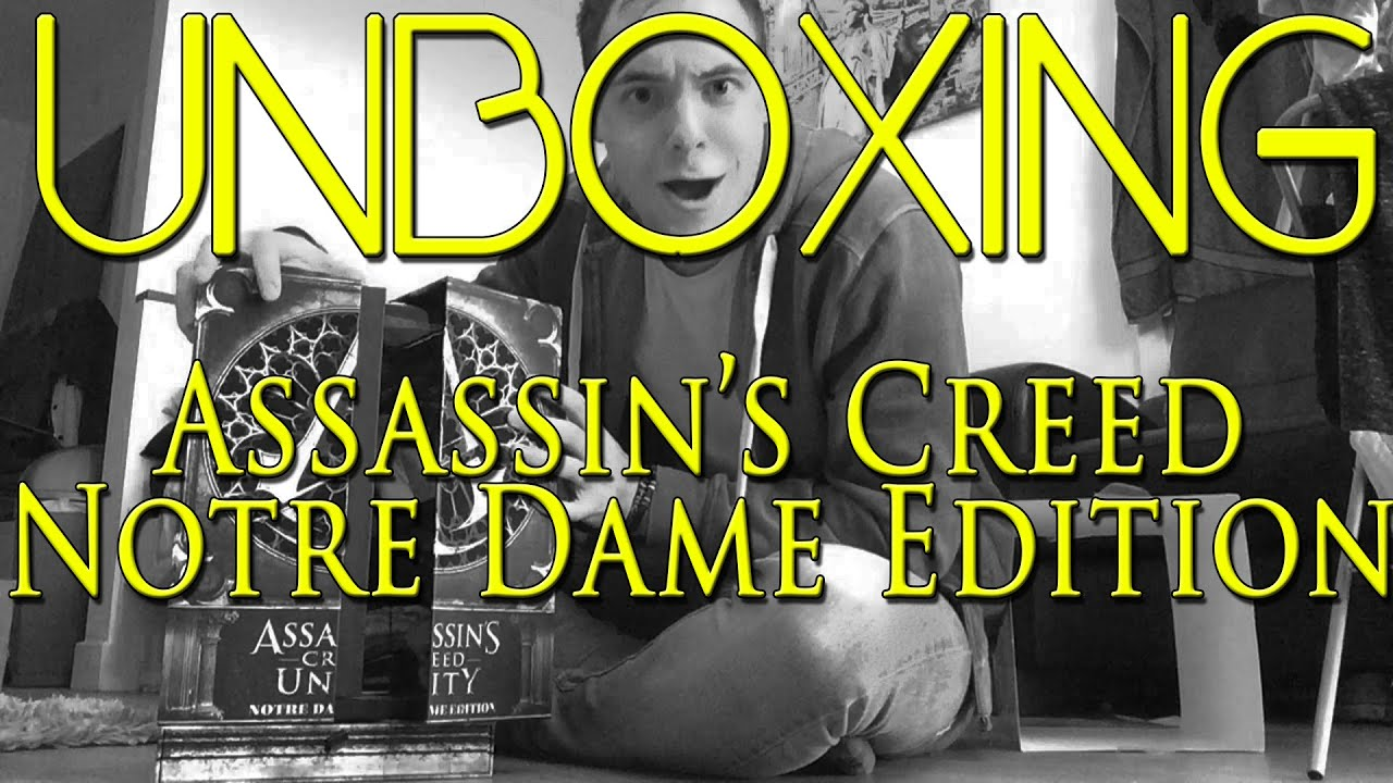 Unboxing Assassins Creed Notre Dame Edition! - YouTube