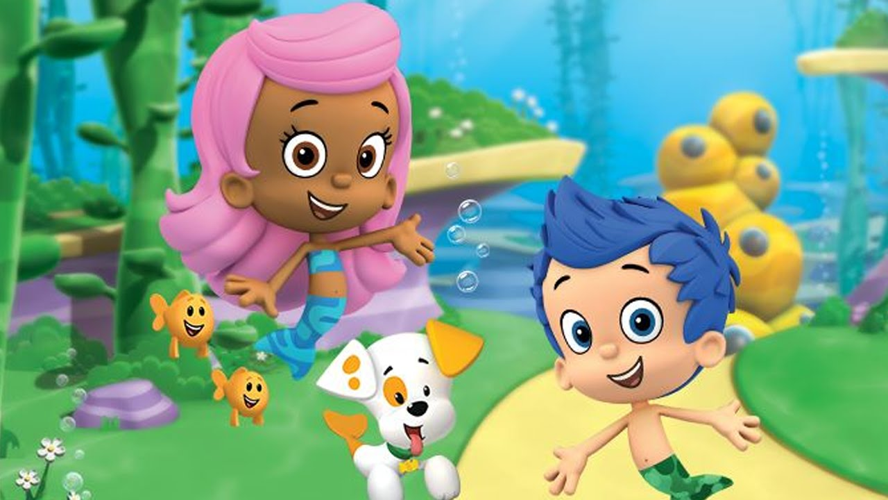 Bubble guppies the video game
