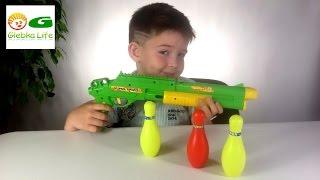 Детское оружие: БЛАСТЕР для игры в боулинг. Baby Weapon: Blaster bowling.