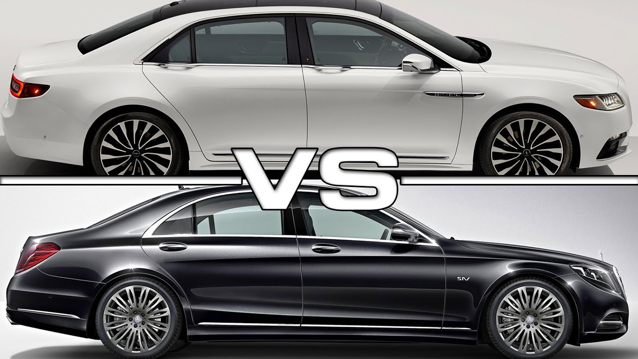 Lincoln continental vs mercedes benz s class youtube for Mercedes benz lincoln