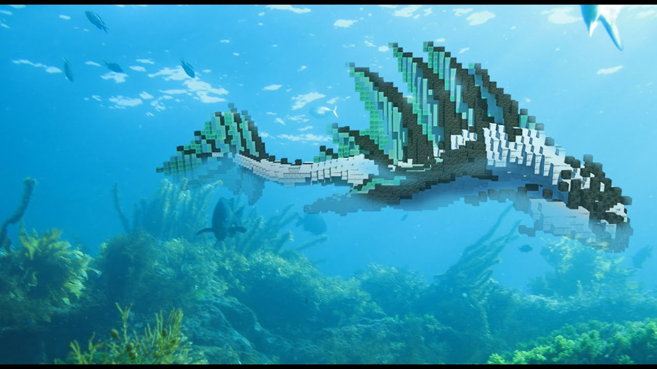 Minecraft cinematic [Katarias water temple mega building]. Aragat Fis  +Download