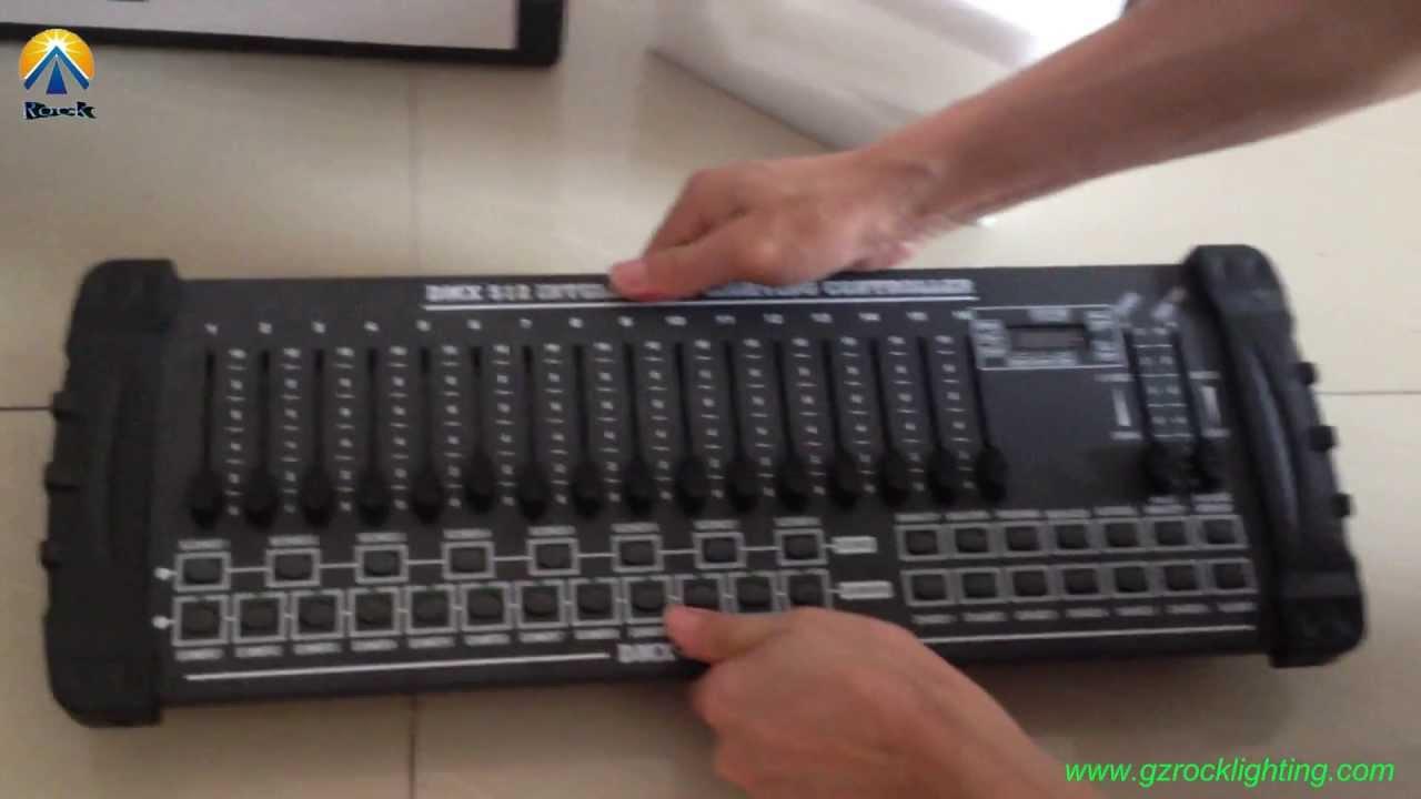 Crocodile 2416 console stage lighting dmx rgb led programming.