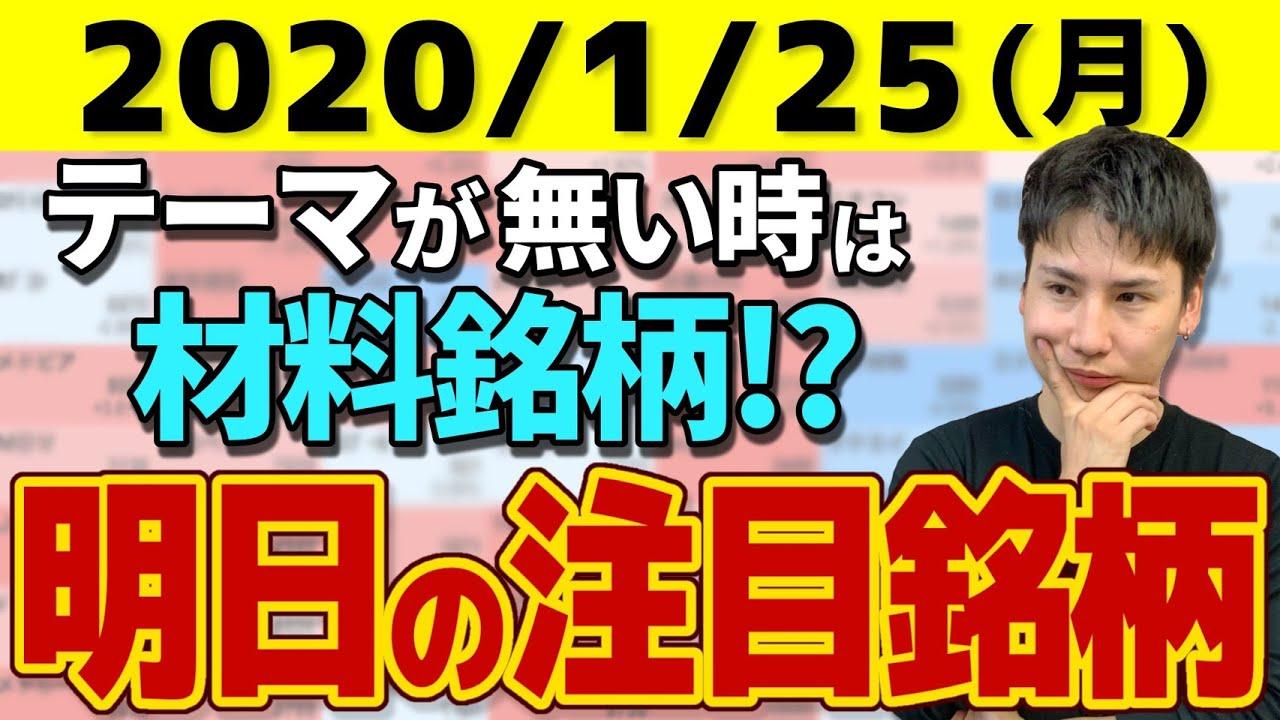 【10分株ニュース】2021年1月25日(月)