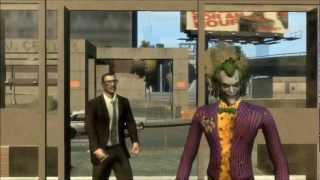 BATMAN Death of the Smile part 1 (GTA 4 Machinima)