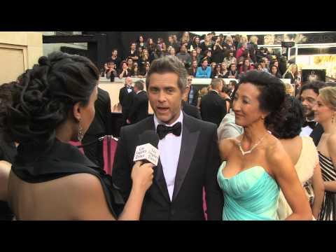 John Gatins on Oscars Red Carpet 2013