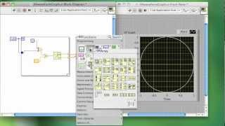 LABVIEW TUTORIALS - WAVEFORM and XY GRAPH