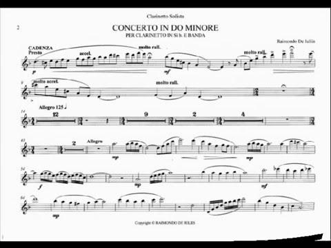 spartiti per clarinetto in sib gratis