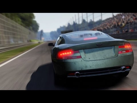 Need For Speed: Shift 2 Unleashed - Aston Martin DB9 Coupe - Test Drive Gameplay (HD) [1080p60FPS]
