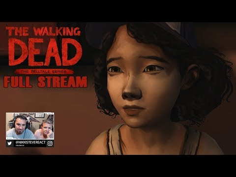 The Walking Dead Season 1 Episode 1 'A New Day' FULL Playthough | Stikker Gaming
