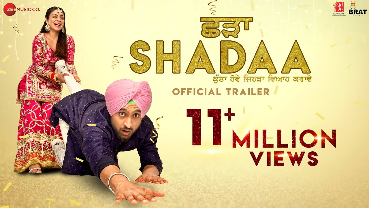 Download SHADAA (Official Trailer) | Diljit Dosanjh | Neeru Bajwa | 21st June | Punjabi Movie 2019