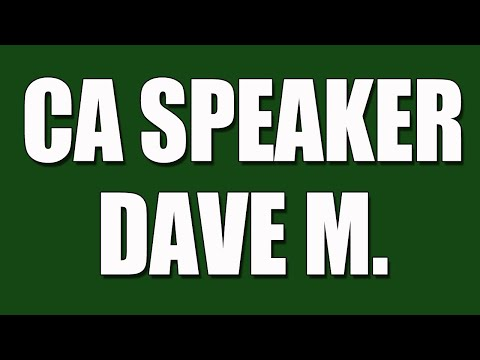 Dave M. CA Speaker - Cocaine Anonymous