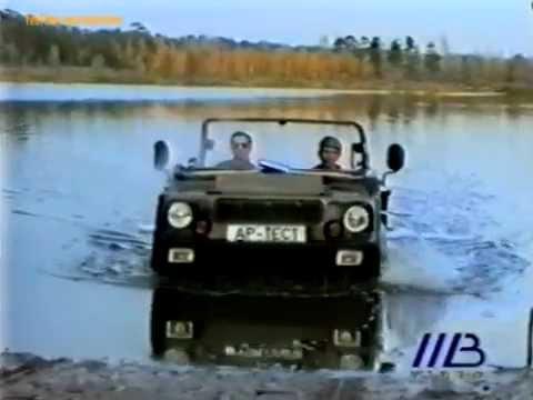 """Плавающая """"Нива"""" ВАЗ-2122"""