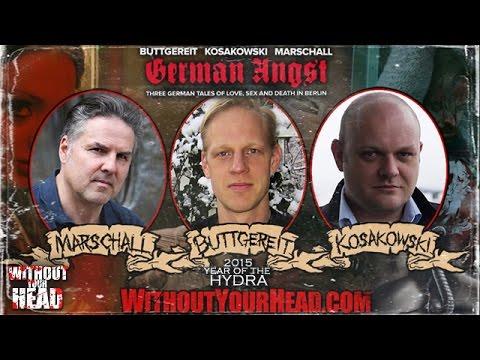 German Angst directors Andreas Marschall, Jorg Buttgereit & Michal Kosakowski interview
