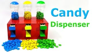 How to make a Candy Dispenser