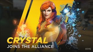 Marvel Ultimate Alliance 3: The Black Order - Crystal Gameplay (Nintendo Switch HD) [1080p60FPS]