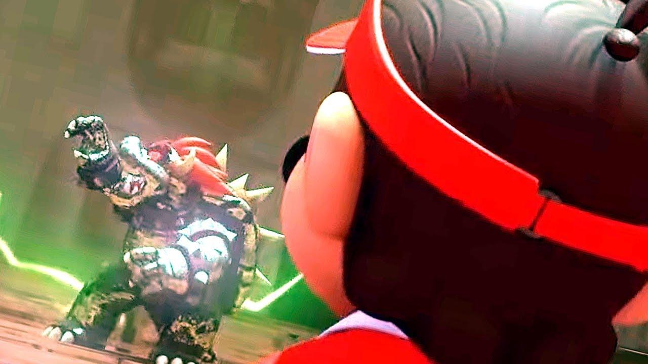 Mario Vs. Bowser Final Boss & Ending Cutscene - Mario Tennis Aces