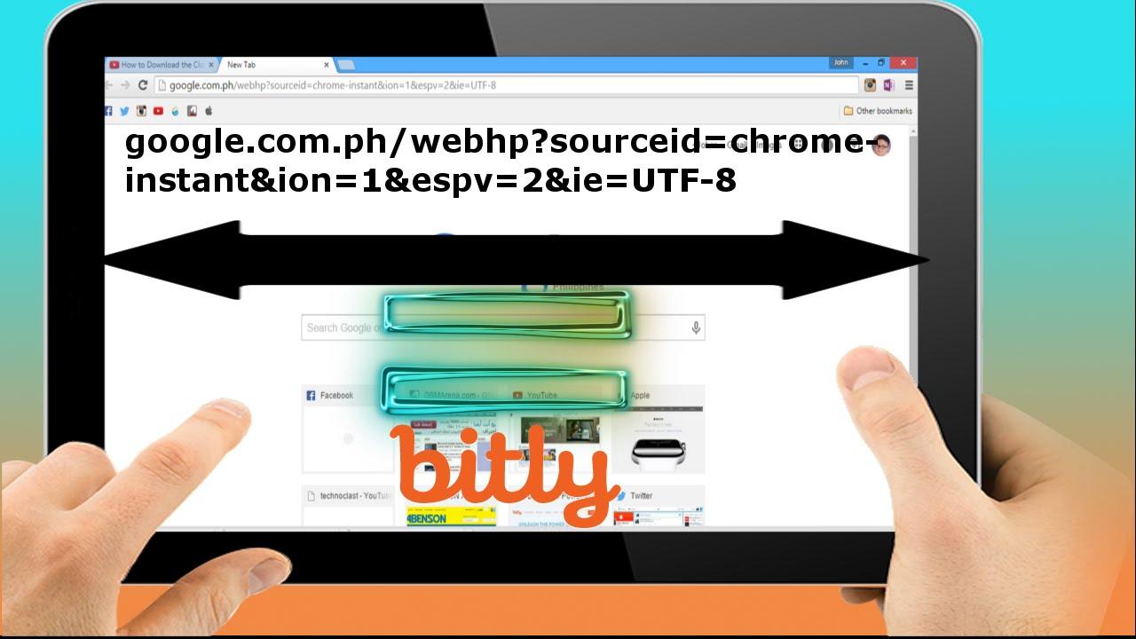 How to shorten links using bit ly youtube