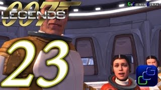 007 Legends Walkthrough - Part 23 - Moonraker: Space Station - Agent (stealth gameplay + optional)