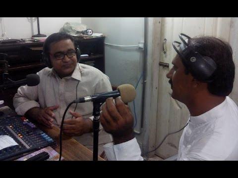 Shahmir Soomro, Emerging Poet Of Sindh @ Hot FM 105 Larkana.