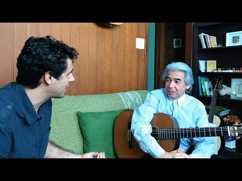 Reflections on art - Interview with the guitar master Francisco Araújo