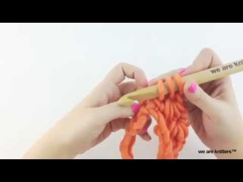 Punto estrella - Aprende crochet - YouTube