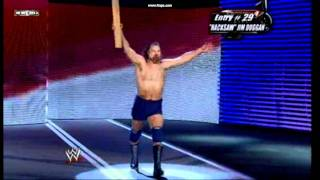 Royal Rumble 2009 Jim Duggan entrance number 29