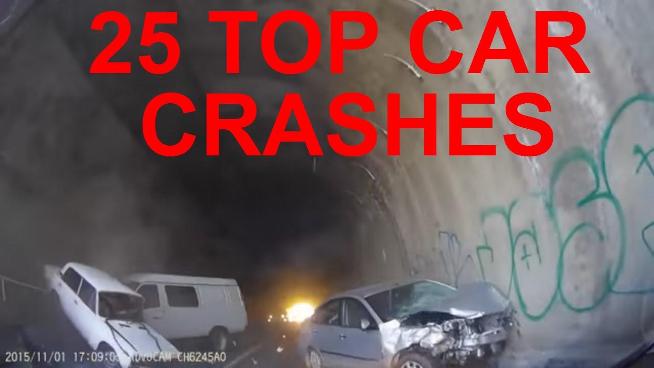 Top 25 Worst Car Crashes And Accidents Top Car Crash Too Extreme Car Crash Accident