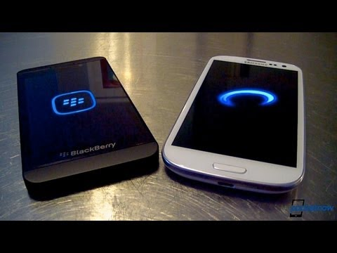BlackBerry Z10 vs Samsung Galaxy S III