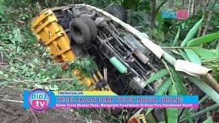 Tragedi Dump Truck Pasir Oling Masuk Jurang Di Suruh Trenggalek - bioz tv