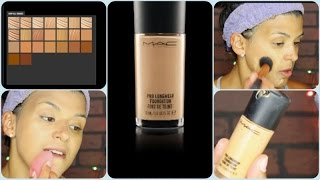 Is it worth trying? |MAC Pro Longwear Foundation and Demo