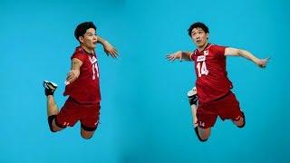 Yuki Ishikawa & Yuji Nishida   Crazy Vertical Jumps   Volleyball World Cup 2019 (HD)