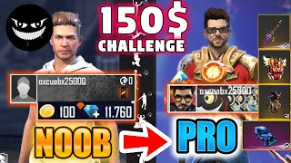 Free Fire new account to *PRO* for subscriber - look how it became😱🔥