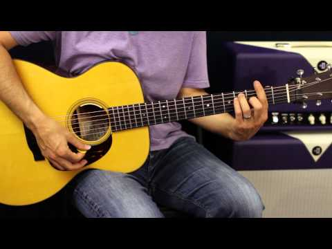 Brad Paisley - Beat This Summer - Acoustic Guitar Lesson - How To Play