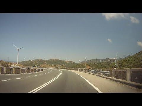 Spain: N-340 Algeciras - Tarifa (Strait of Gibraltar)