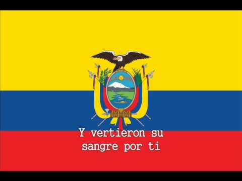 National Anthem of Ecuador Instrumental with lyrics