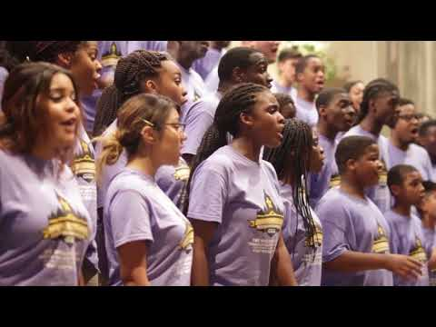 Voices of Unity, performing Somebody's Knocking at Your Door, Written by Raymond Wise