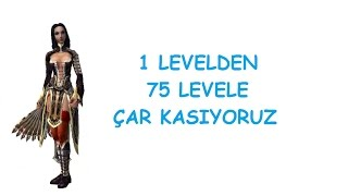 Metin2 Tr 1 Levelden 75 Levele Çar  Kasıyoruz #1