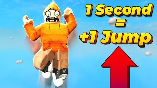 Roblox but Jump Height Rises Every Second