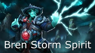Dota 2 Storm Spirit Guide: How to Farm fast Bloodstone - Recovering from HARD lanes