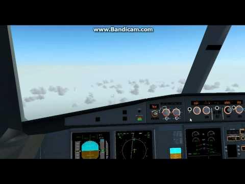 FlightGear 3.2 (HD) / Full Flight EIDW-LFPG A330-200 Air Europa - Excellent Landing