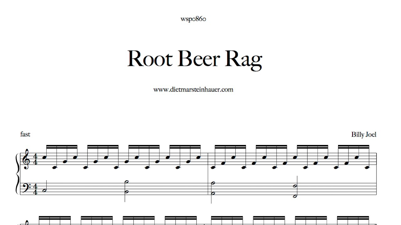 Root beer rag youtube for Dietmar steinhauer