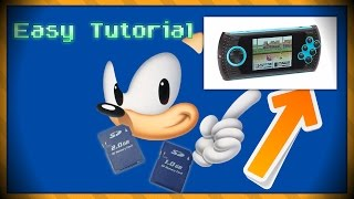 How to DOWNLOAD games on the Sega Genesis Ultimate Portable Game Player!!!