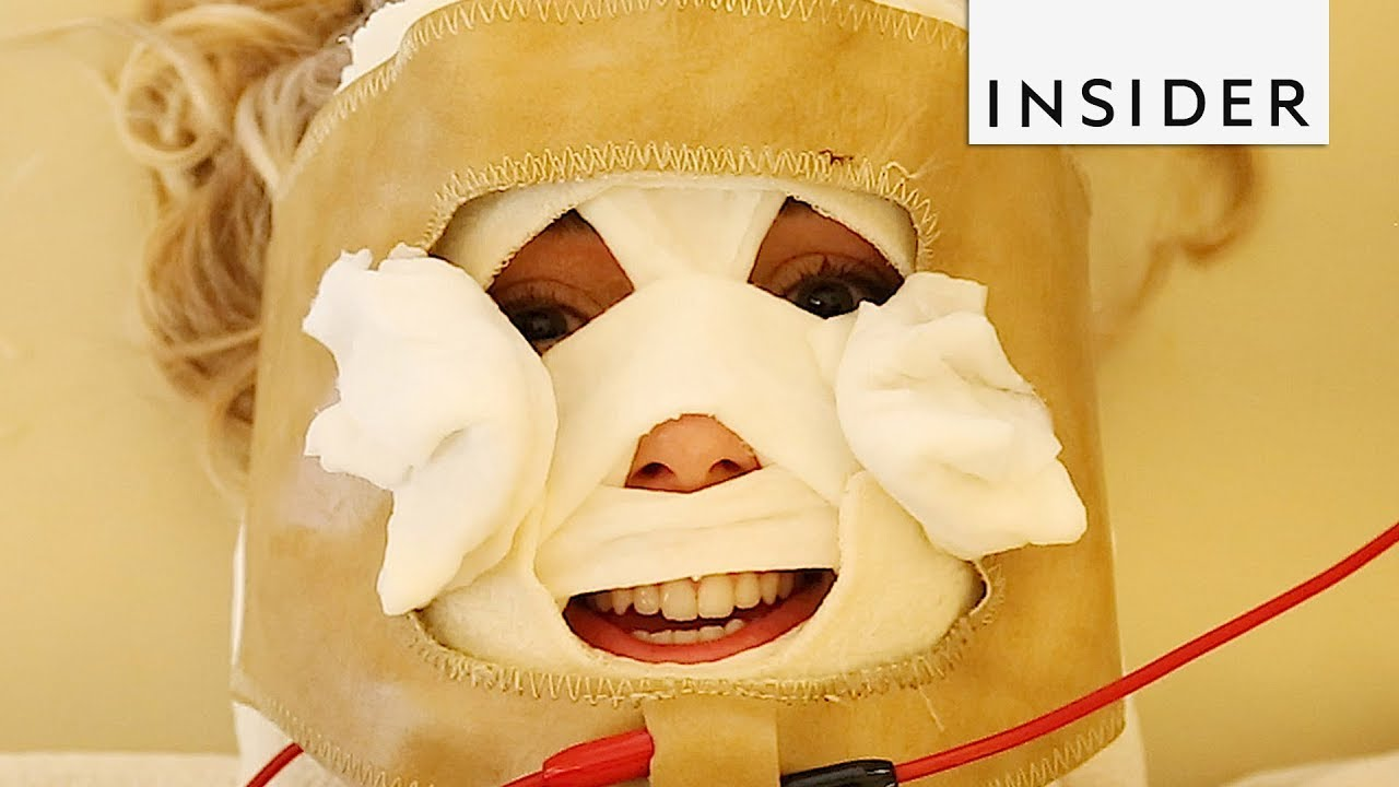 Electric Face Mask Will Have You Looking Like Hannibal Lecter Youtube Petirmoso hannibal lecter washable reusuable face fashion mask mouth adjustable earloop. electric face mask will have you looking like hannibal lecter