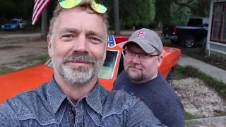 Bo Duke/John Schneider Hood Slide Fail!