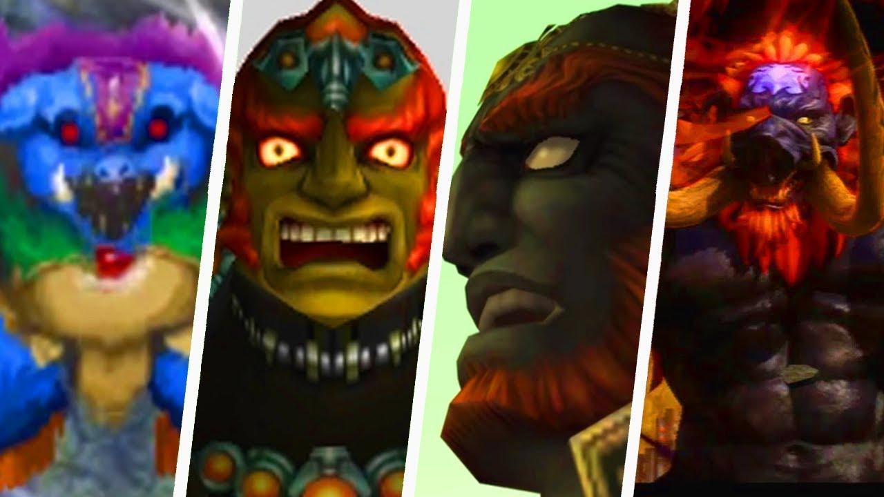 Evolution Of Ganon Deaths In Legend Of Zelda Games 1986 2019