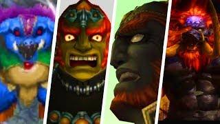 Evolution of Ganon Deaths in Legend of Zelda Games (1986 - 2019)