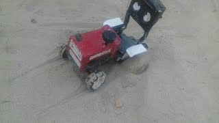 Toy tractor swaraj 855 with Land Lavalier