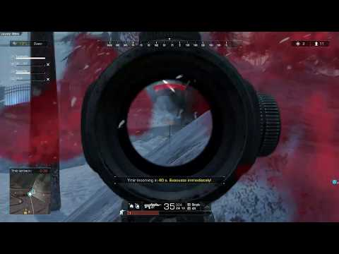 Ring of Elysium gameplay/highlights snow and europa map!!